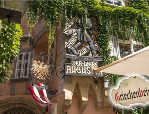 品嘗維也納在地美食:維也納推薦晚餐500年歷史維也納Restaurant Griechenbeisl希臘小酒館